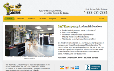 On The Double Locksmith - A Local Family Run Locksmithing Business