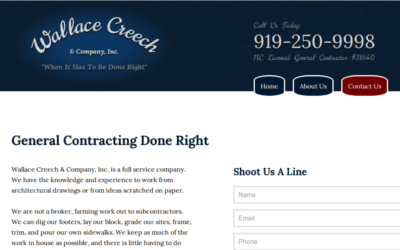 Wallace Creech and Co. - General Contractor Raleigh NC